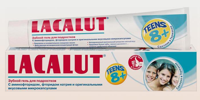 Зубной гель Лакалют Тинс 8+